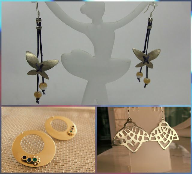 handmade jewellery - Kiki   : handmade earrings
