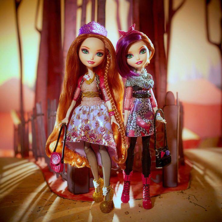 Ever After High, Holly O'Hair and Poppy O'Hair basic fashion dolls by MATTEL. Эвер Автер Хай, куклы Холли О'Хэйр и Поппи О'Хейр базовые. Холи Охеир и Попи Охара
