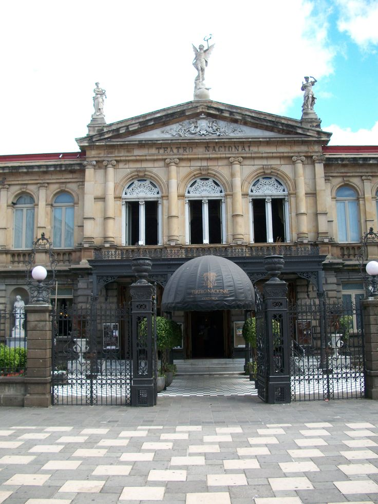 Government House In Downtown San Jose Costa Rica