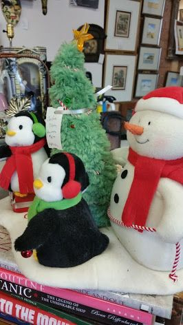 Lots of #festive fun in store! Check out this original Hallmark displays! #collingwood #HolidaysAreComing #giftideas