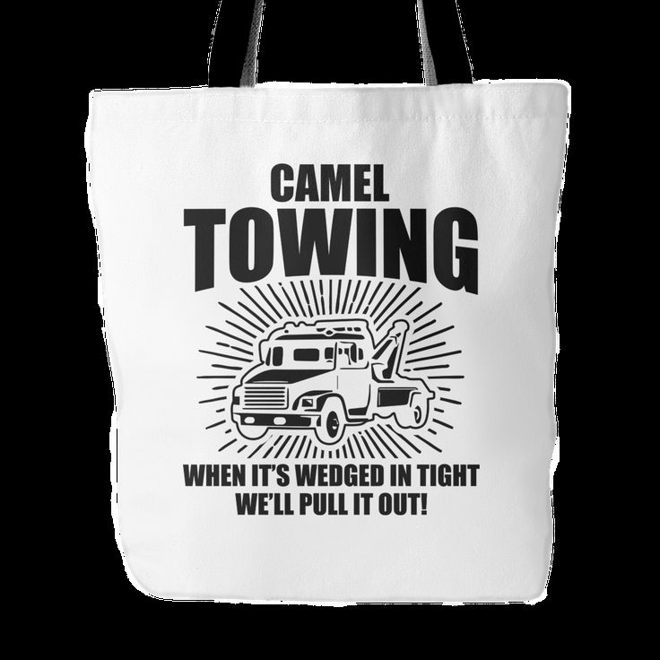 Camel Towing Tote Bag, 18 inches x 18 inches