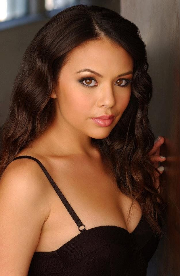 Janel Parrish plays Mona on PLL. She was young on star search