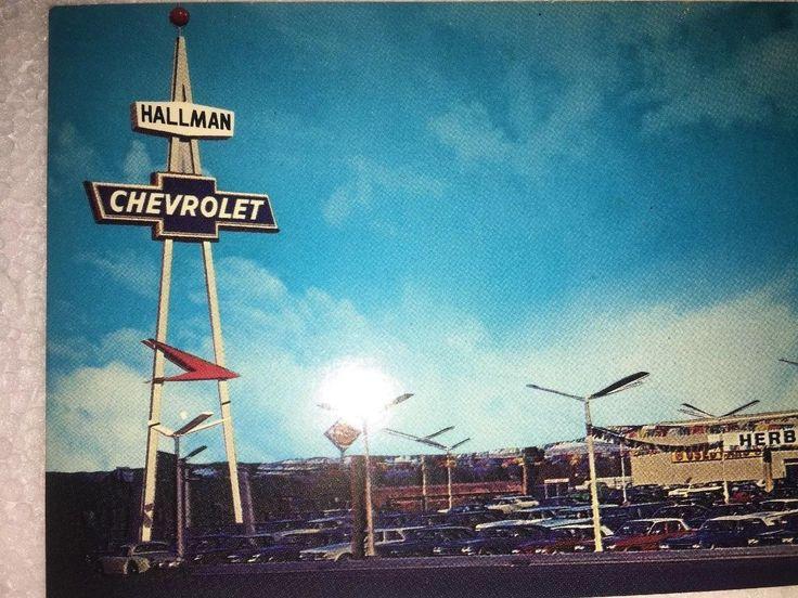 1967 Hallman Chevrolet Dealership Reno Nevada Chevrolet