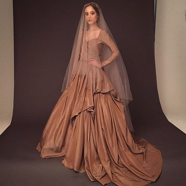 Designer's wedding dresses from the famous Russian wedding fashion designer Victoria Spirina . http://victoriaspirina.com Natural fabrics, exclusive unique design, professional quality patterns, dresses will perfectly sit on the figure. site http://victoriaspirina.com Flowyairy weddingdress, Chiff on wedding dress, Beige wedding Gown, Bohe mian wedding dress, long sleeve wedding dress, low back wedding dress, beachweddingdress