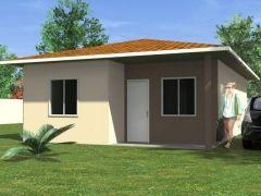 Casas Pré Montadas | Casas com 2 dormitórios e 60M2 para Venda em Pinhais/PR