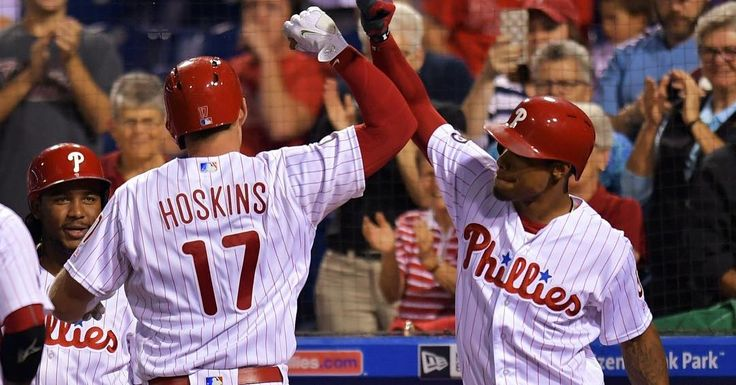 Up next is the #Phillies ! -  The Phillies COULD make the playoffs in 2018 because of their young talent. The bigger name is of course Rhys Hoskins who had a MONSTROUS debut year hitting 18 HR in 50 games with with a 1.014 OPS. Cesar Hernandez had his second season in a row batting .294 and upped both his OBP and SLG to career highs at only age 27. Nick Williams impressed in his debut batting .288/.338/.473 with 12 HR in 83 games. Aaron Altherr for his first full season and impressed wirh a…