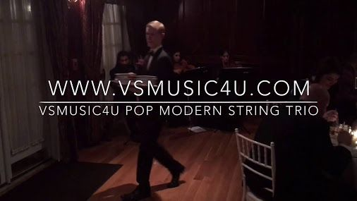 VSmusic4u NY Wedding String Quartet, String Trio, String Duo, Violinist and Cellist, Pianist, Flutist, Saxophonist, Trumpet, Guitar, Organist, Harp Player - VSmusic4u Event Music Provider Long Island  WEBSITE: www.VSmusic4u.com EMIAL: vsmusic4u@gmail.com PHONE: 917-420- 0811   We have played at hundreds of events and can provide music for any occasion: Weddings (Prelude, Ceremony and Postlude Music, Wedding Reception, Cocktail Party, Anniversary Party, Corporate Events