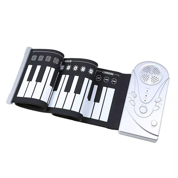 #teclado #midi flexible #piano de 49 teclas envio gratis #rocker #mercadolibre