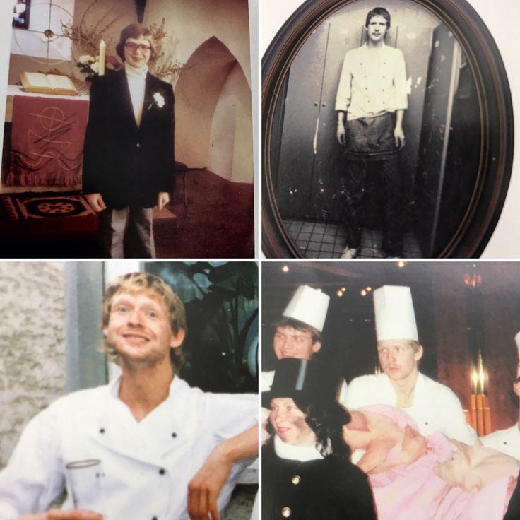 Hoy hace 40 años empecé con mi aprendizaje de cocinero, que todavía está durando... Era el 1.7.1977
