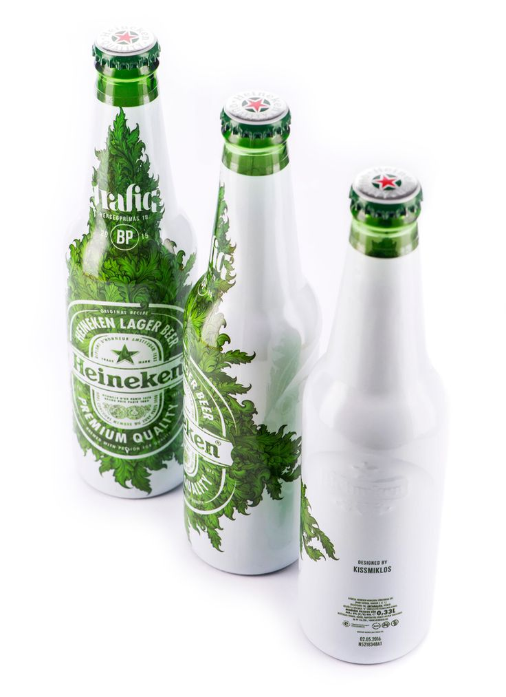 Heineken Limited Edition: Trafiq — The Dieline - Branding & Packaging