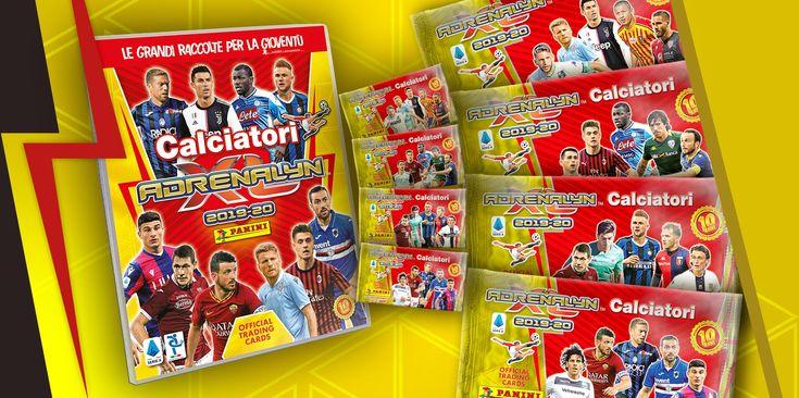 Adrenalyn xl 2020 calciatori carte card la nuova