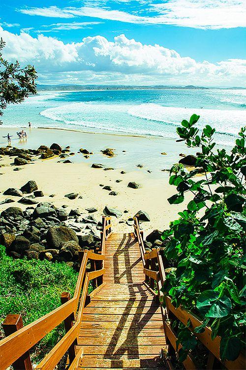 The coast line, Australia