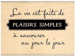 PLAISIRS SIMPLES - Florilèges Design