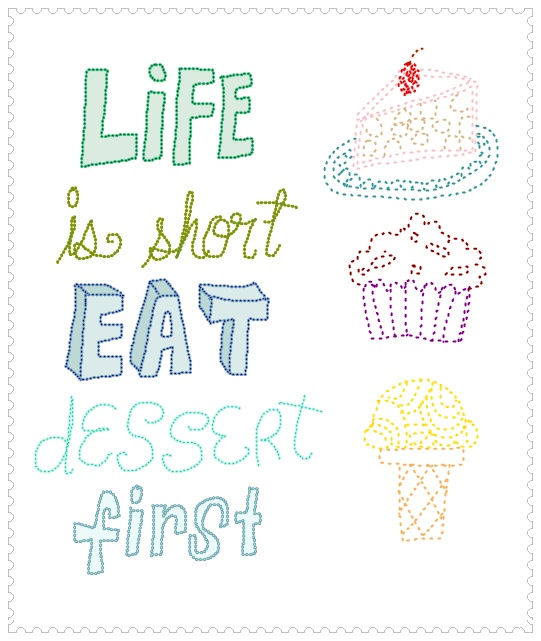 #life is short         now, that's what I'm taliking about! =)
