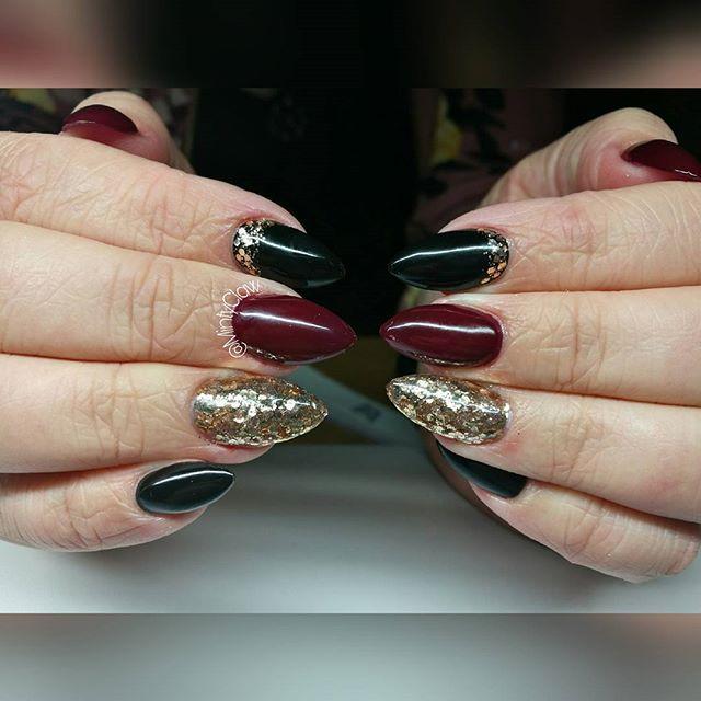 #paznokcie #nails #manicure #gelnails #mintyclaw #nailac @nailacuv #instanails