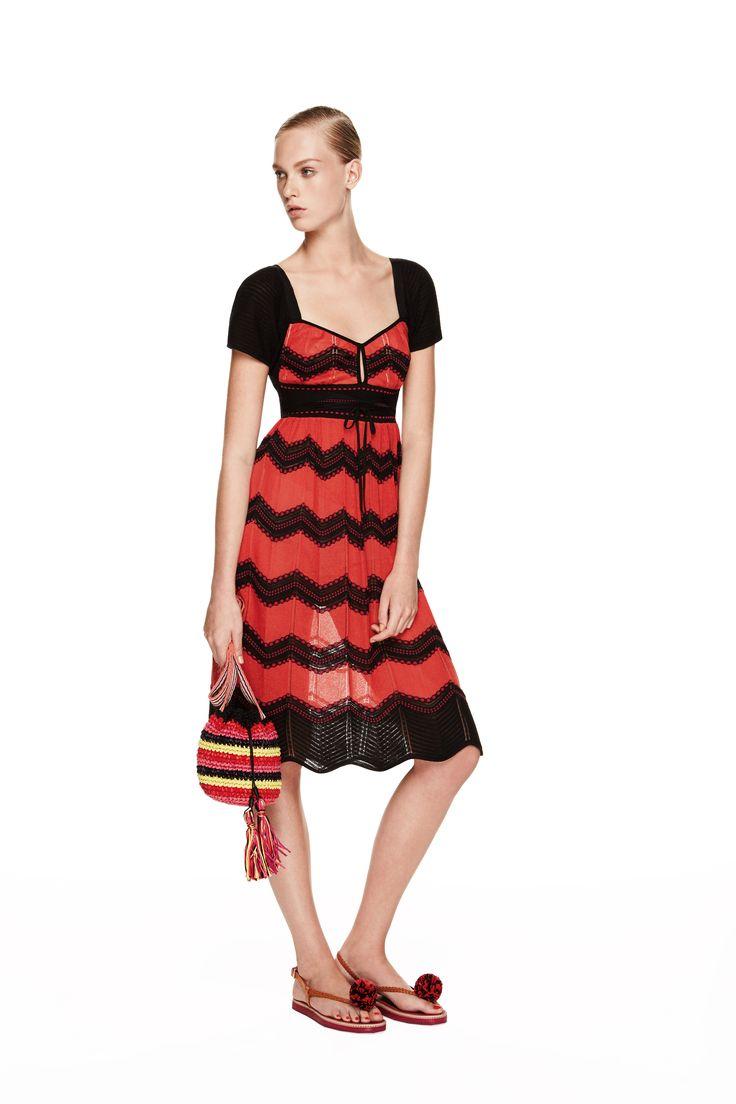 M missoni red dress dash