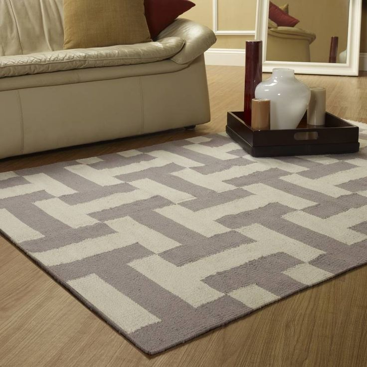 Bold And Contemporary Materials Rug MaterialLiving Room