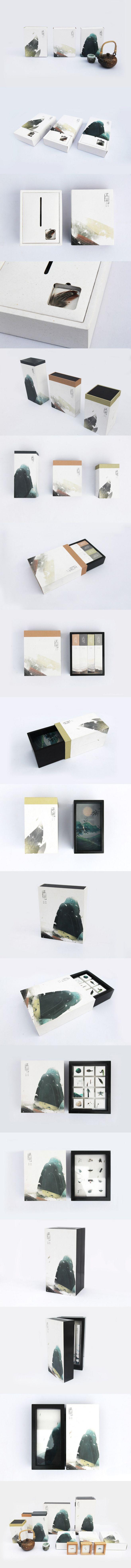 찐 디자인 - - [디자인] 중국의 새로운 포장의 매우 동양적인 매력 야채와 함께 기름으로 살짝 튀긴 후 오래 끓이다 마이크로 헤드 라인. Beautiful tea packaging PD