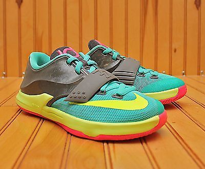 Best Nike KD 7 Pink Black Volt Blue