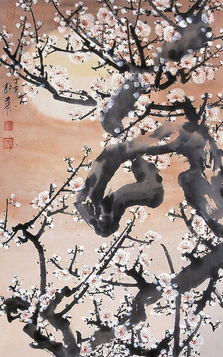 Moon Plums by guohua on DeviantArt