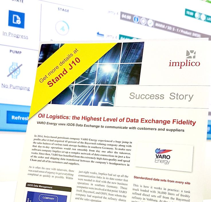 Implico present the successful data exchange project for Varo Energy