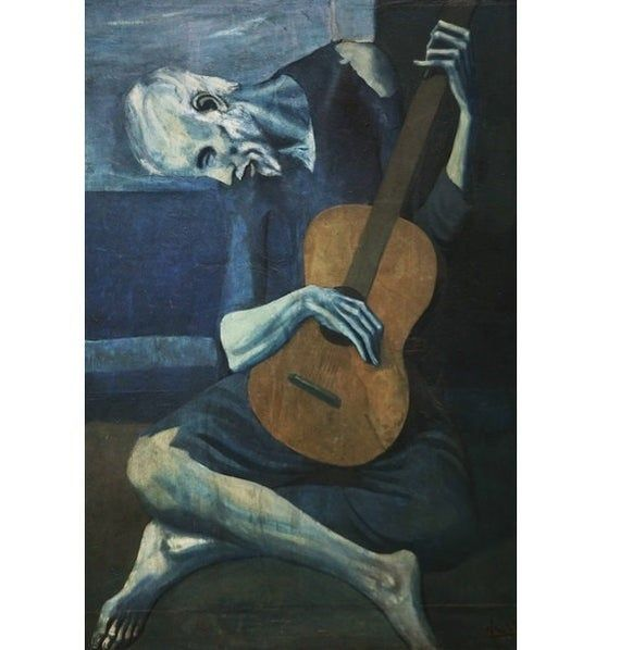 Pablo Picasso The Kiss Print Poster Giclee