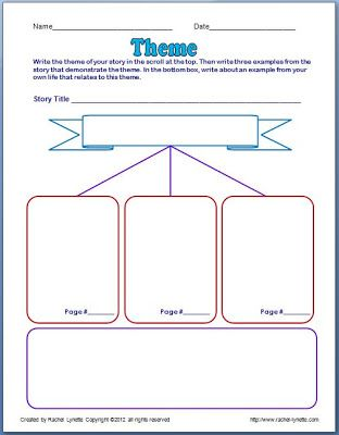 Worksheets Worksheet On Theme 1000 images about classroom ideas on pinterest red ribbon week freebies theme poster and graphic organizer