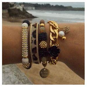 ComBy Golden Vintage ♥♥♥♥  #pulseras #bracelets #accesorios #new #collection #spring #summer www.byneskapolita.com