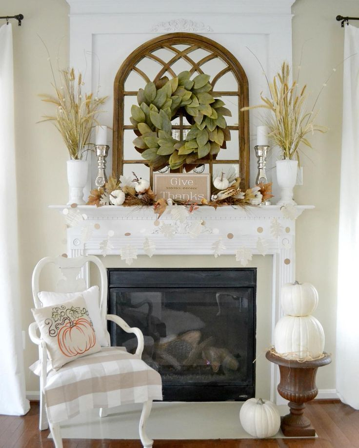 Fall Fireplace Mantel Decorating Ideas: 218 Best Images About Fall Mantles On Pinterest