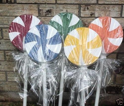 how to make lollipops out of paper plates