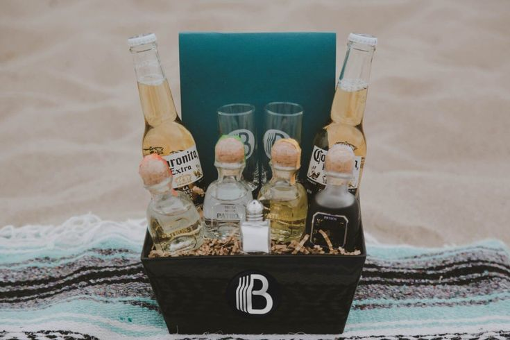 This tequila gift basket is for all the tequilla lovers in your life. With 4 of Patron's top tequilas, lime, salt & corona to wash it down, its awesome!