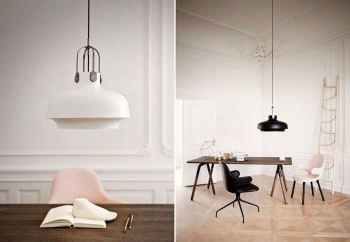 New Light by Space Copenhagen inspired by nautical oil lamp | NordicDesign
