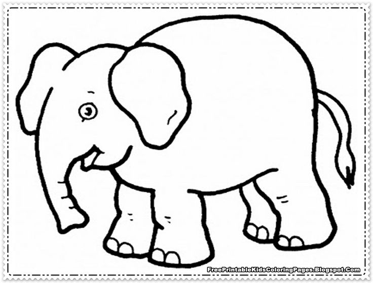 7 best elephant images on pinterest baby elephant baby for Elephant template for preschool