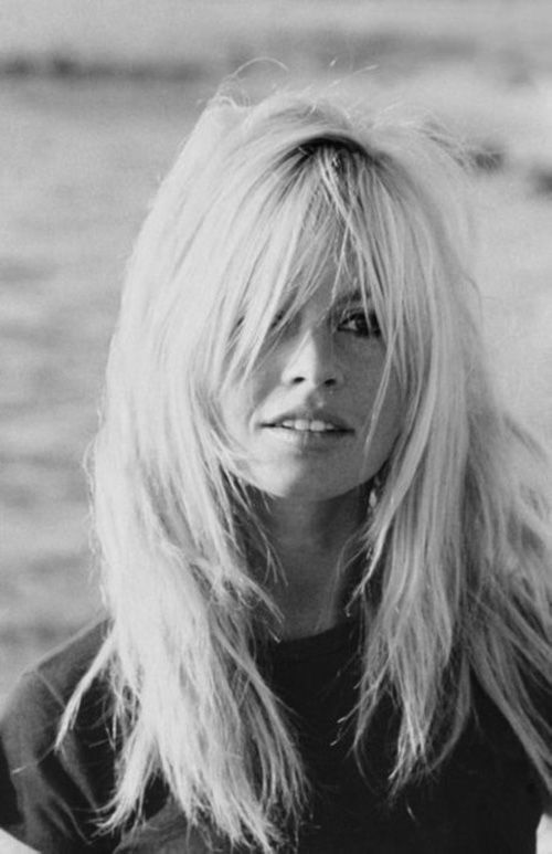 Cinema Style File--Brigitte Bardot's Hair Inspiration | GlamAmor DEFINATELY my next hair cut.