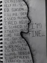 Depression..but i am fine.. ¥