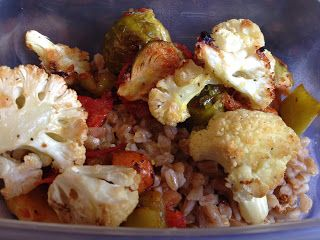 Warm Farro Salad With Roasted Vegetables And Fontina Recipes ...