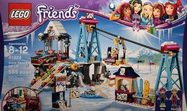 LEGO Friends 41324 Snow Resort Ski Lift box