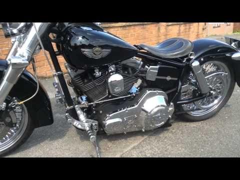 Harley Davidson Custom lowrider for sale. 2 - YouTube