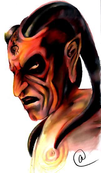 the Djinn says....obey your master..... i say.....as you WISH...mAster.... my friend shannon lend me the wishmaster(1&2) movies, and i think their one of the best Wes Craven movies of all times...