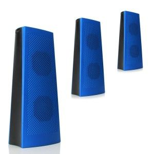 GOgroove: 3 Pack Portable Wireless Bluetooth Tower Speaker GOgroove 3 Pack Bluetooth Multimedia Speaker works with Phones , Tablets , MP3 Players & more. You can utilize the Bluetooth and stream your music wirelessly from your device at up to 33 feet away. If you have an outdated device, take advantage of the included Aux 3.5mm cable and plug right into the speaker.  http://awsomegadgetsandtoysforgirlsandboys.com/gogroove/ GOgroove: 3 Pack Portable Wireless Bluetooth Tower Speaker