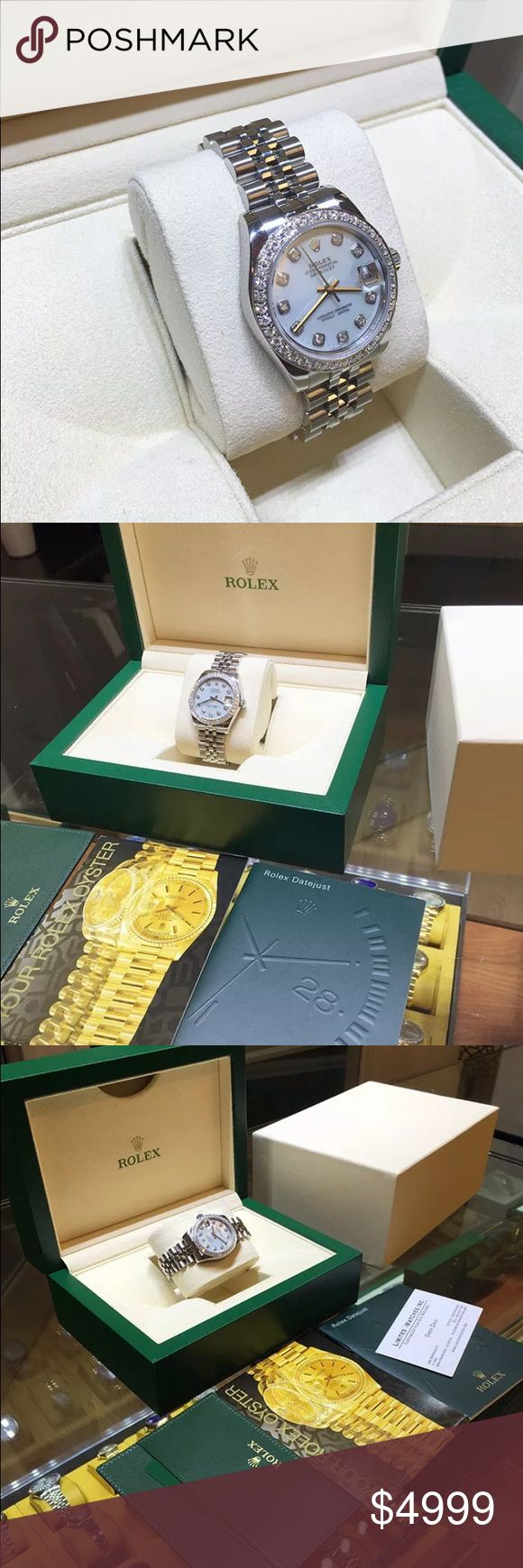 Ladies Rolex Midsize Watch 178240 STAINLESS STEEL Rolex Datejust 178240 Ladies 31mm Midsize Diamond Dial & Bezel Silver Stainless Steel Jubilee BOX/PAPERS BRAND NEW 2015     TEXT ME AT 678-362-5187 FOR CHEAPER PRICE! Rolex Accessories Watches