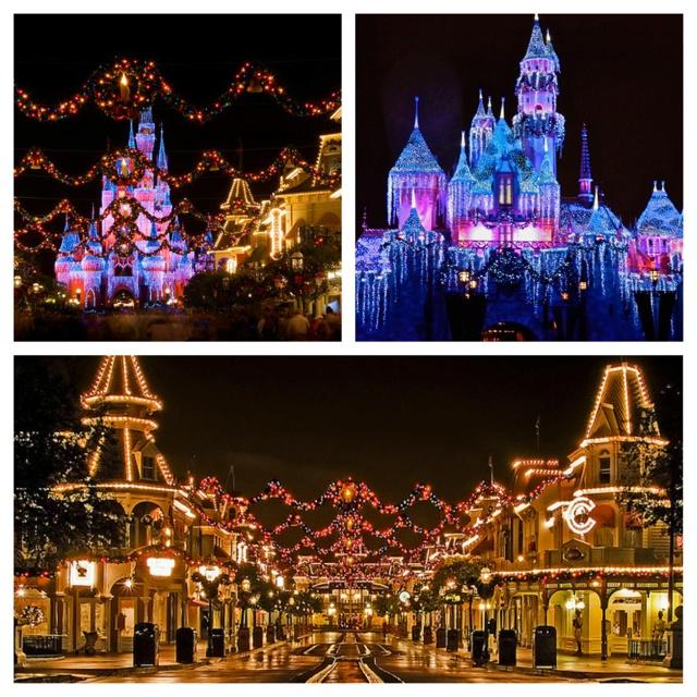 Disneyland Decorated For Christmas: 240 Best Disneyland Christmas Images On Pinterest