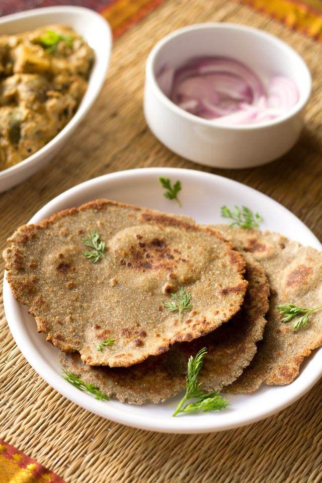 bajra roti or bajra bhakri recipe, how to make bajra roti recipe