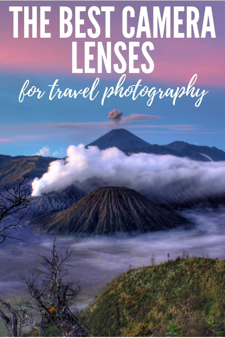 Helpful guide for finding the right camera lens for your trip.