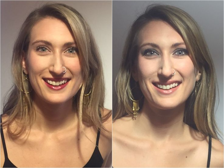 Tutorial: Smoky eye and subtle lip, or a neutral eye with bold lip.