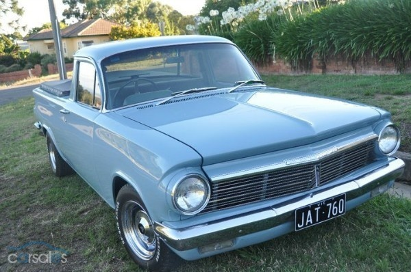 1964 HOLDEN EH UTILITY BLUE
