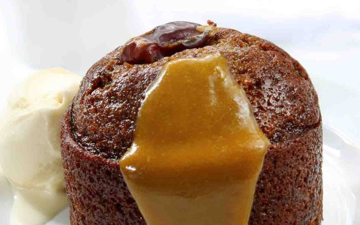 Sticky Date (Fig) & Walnut Pudding Recipe with Toffee Sauce