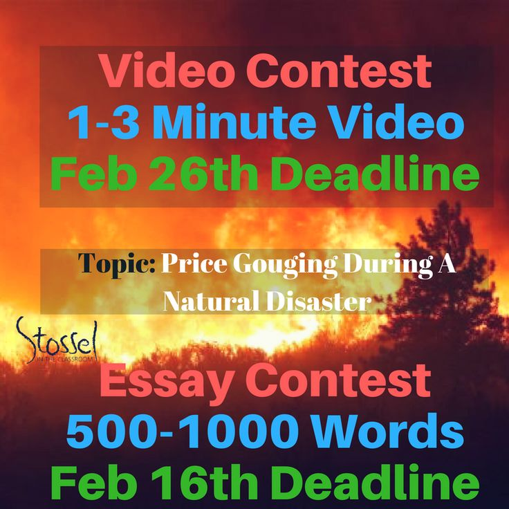 best essay contests ideas letter writing format  our video and essay contests ask participants to write a 500 100 word paper or to create a 1 3 minute video about price gouging during a natural disaster