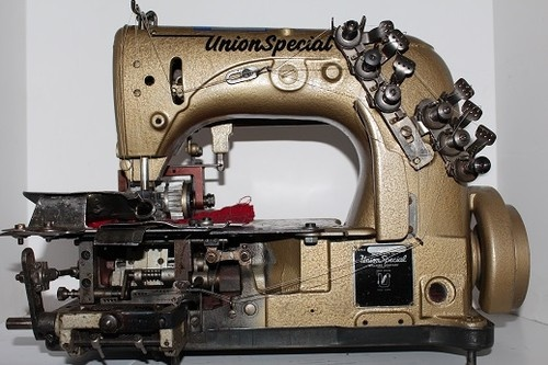 Vintage sewing machine union special thank for