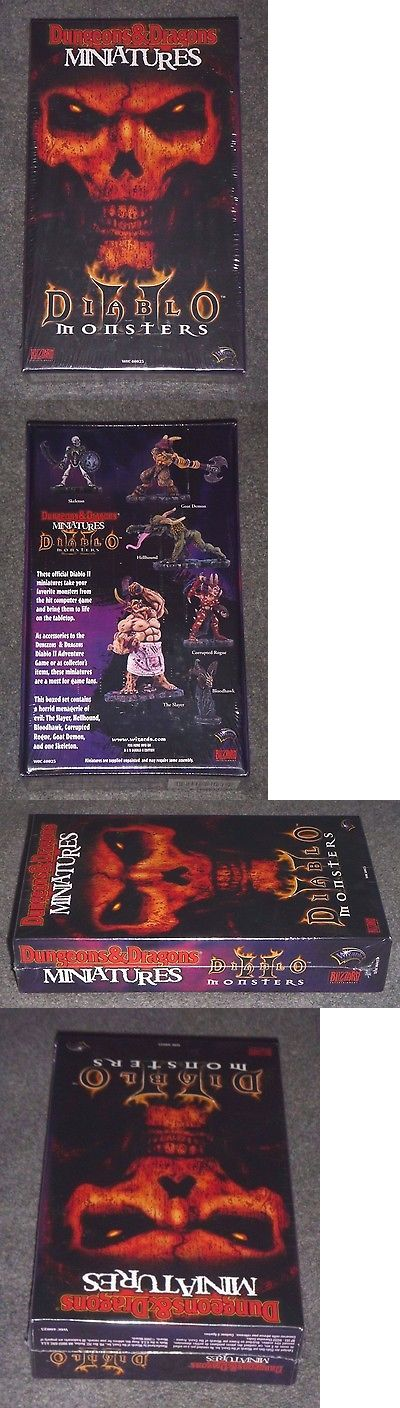 Miniatures 166803: Dungeons And Dragons Miniatures : Diablo Ii Monsters -Wotc {New-Sealed-Shrink} Oop -> BUY IT NOW ONLY: $54.99 on eBay!